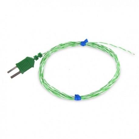 Sonda de temperatura de fio PTFE tipo K TME KA01
