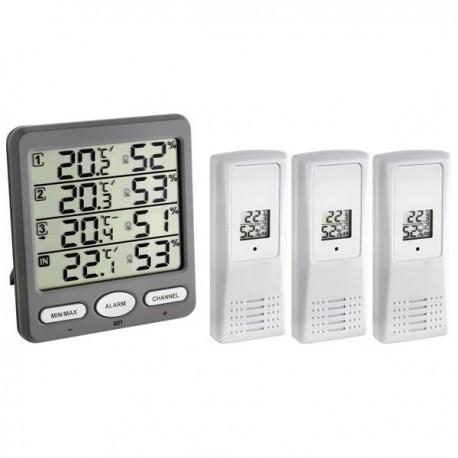 Termohigrómetro Wireless com Alarme Extech 30.3054.10