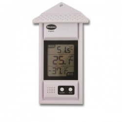 Digital Max Min Thermometer with Roof Brannan 12/428/3