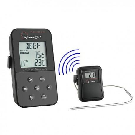 Termómetro e temporizador de forno sem fios (Wireless) TFA 14.1504