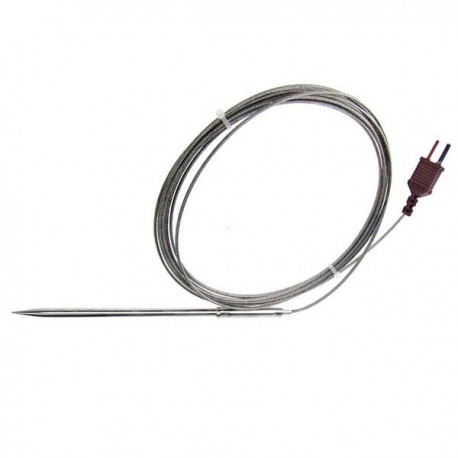 Oven temperature probe in stainless stell type T TME TP09