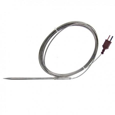 Sonda de alta temperatura em aço inoxidável tipo T TME TP09