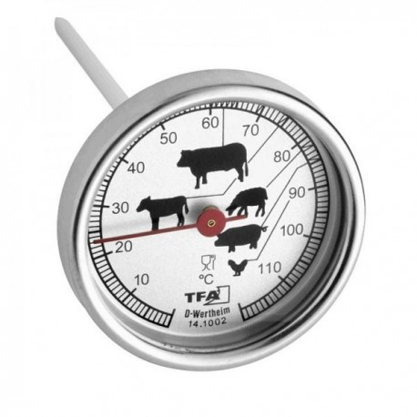 Meat thermometer, meat roasting thermometer 14.1002.60.90
