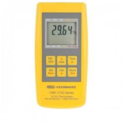 Termómetro de referência com entrada para diferentes tipos de sondas PT100 Greisinger GMH 3710