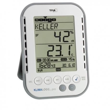 Datalogger sem fios (wireless) de Temperatura e Humidade Dostmann 5000-0140 30.3039.IT