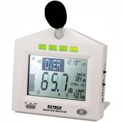 Sonómetro com nível de alarme programáveis Extech SL130W