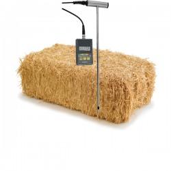Medidor de humidade em feno e palha Greisinger BaleCheck 100