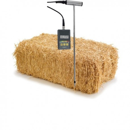 Hay and straw humidity measuring instrument Greisinger BaleCheck100