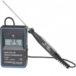 Termómetro Alimentar com sonda de imersão Greisinger GTH175PT-T
