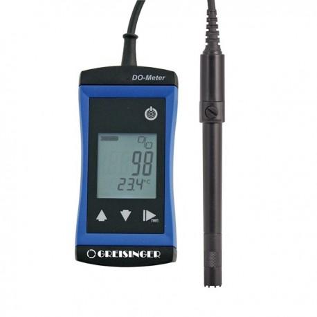 Medidor de Oxigénio Dissolvido (DO) de elevada precisão Greisinger G1610