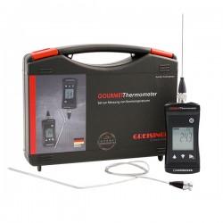 Conjunto Gourmet, Termómetro à prova de água com sondas de penetração Greisinger G1701-GOURMET-SET-GE