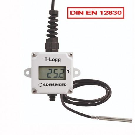 Datalogger de Temperatura com sonda externa Aprovado pela Norma EN 12830 Greisinger T-Logg 100