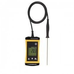 Termómetro Alimentar à prova de água com sonda de penetração Greisinger G1730
