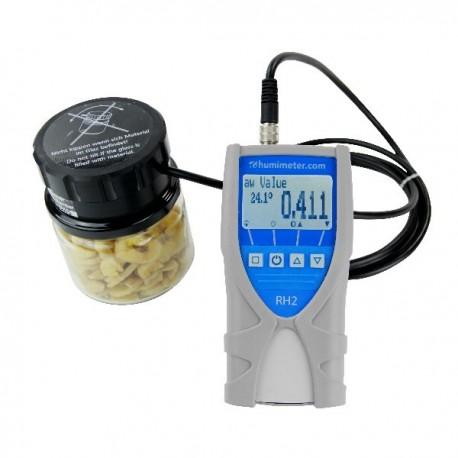 Medidor de atividade da água portátil Humimeter