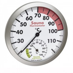 Termo-higrómetro analógico para sauna Dostmann TFA 40.1055.50