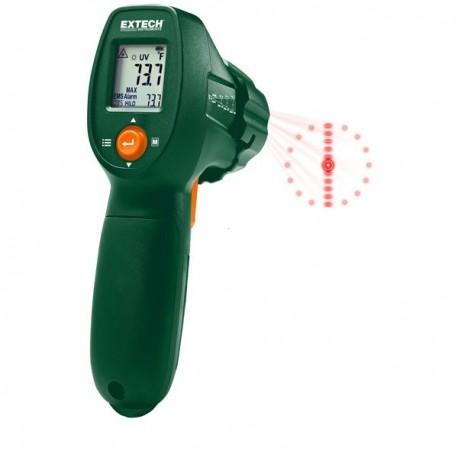 Termómetro por Infravermelhos com detector de fugas Extech IR300UV