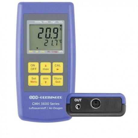 Medidor de Oxigénio de elevada precisão Greisinger GMH 3692