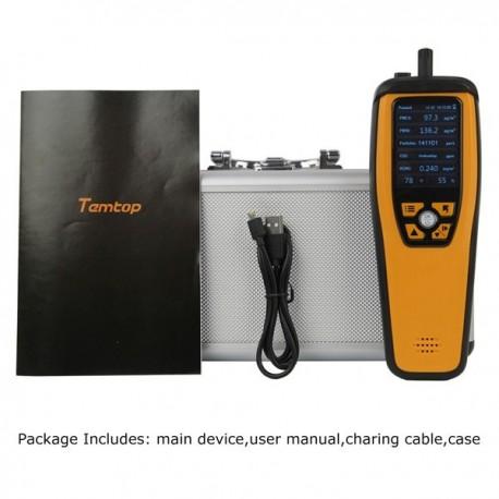 Monitorização de Qualidade do Ar Elitech Temtop M2000