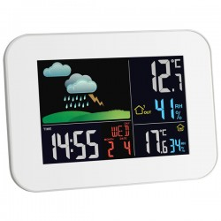 Estação meteorológica sem fio com ecrã a cores TFA Dostmann 35.1136.02