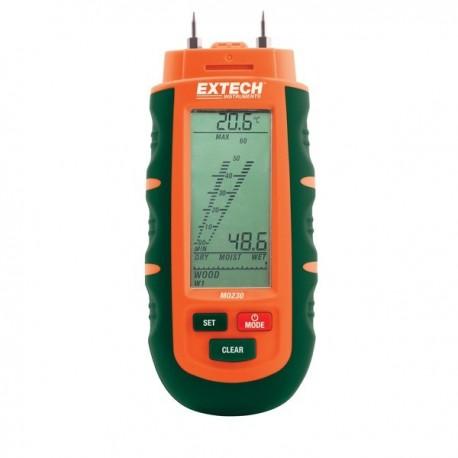 Medidor de Humidade em Materiais Extech MO230
