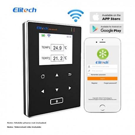 Datalogger WIFI 2 canais de temperatura Elitech RCW-600WIFI