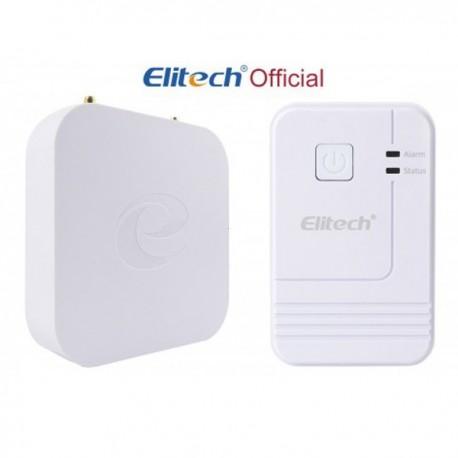 Receptor e datalogger sem fio (Wireless) de temperatura e humidade Elitech RCW-2000WIFI-30-RCW-2100WIFI