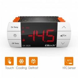 Controlador de temperatura, controle, descongelação Elitech EK-3020