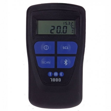 Termómetro com leitor de código de barras e Bluetooth TME Thermometers MM7000-2D