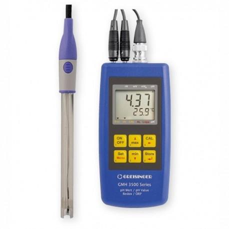 Precise Full set for pH / temperature measurements Greisinger GMH 3511-G125