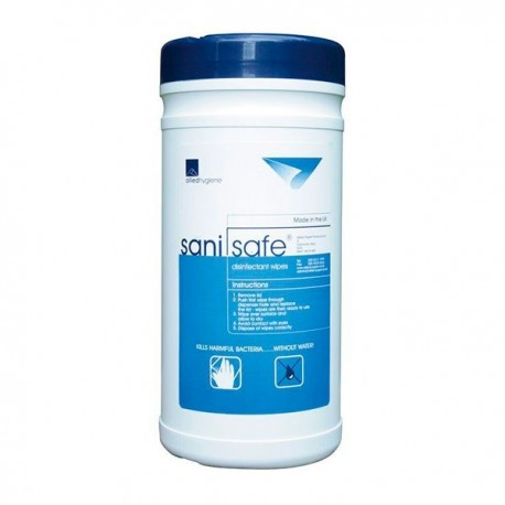 Toalhetes Desinfectantes - COVID-19 Sanisafe® 4