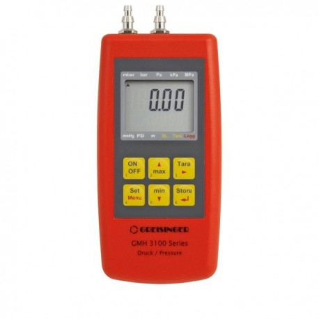 Pressure gauge Air pressure, Non-corrosive gas Greisinger GMH 3161-01