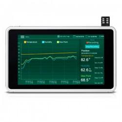 Registador de Temperatura e Humidade com visor sensível ao toque Extech RH 550
