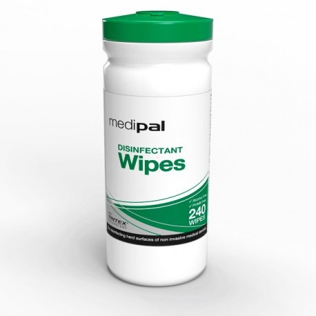 PAL International™ Medipal™ 3 in 1 Disinfectant Wipes packaging with 10 tubes