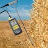 Hay and straw temperature & humidity measuring instrument Greisinger BaleCheck 200