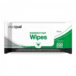 Medipal™ 3 in 1 Disinfectant Wipes in Flow Wrap 200 wipes PAL International™