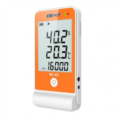 Multi Use Temperature And Humidity Data Logger Data Logger Elitech RC-61