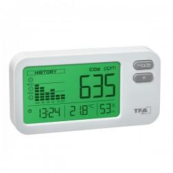 Medidor Qualidade do Ar CO2, temperatura e humidade TFA 31.5009.02