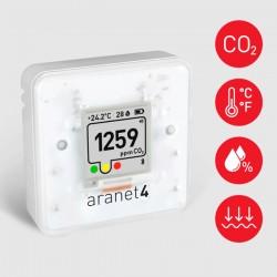 Medidor Qualidade do Ar CO2, Temperatura, Humidade e a Pressão Atmosférica Aranet4 Home