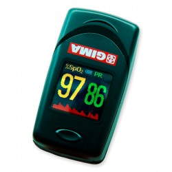 Oxy 6 color oximeter with perfusion index and alarms - Gima