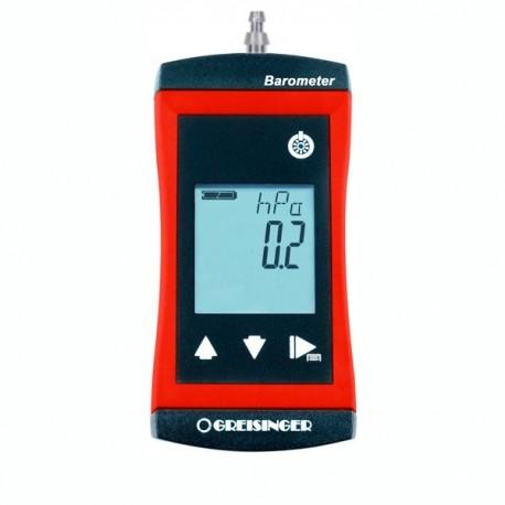 Measuring set Vacuum meter, Barometer Greisinger G1111-QC6-SET