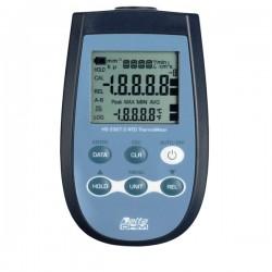 Termómetro para Sondas PT100 Delta Ohm HD2307.0