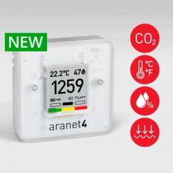 Medidor Qualidade do Ar CO2, Temperatura, Humidade e a Pressão Atmosférica Aranet4 PRO TDSPC003