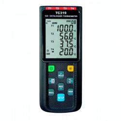 Datalogger de 4 Canais com Entradas para Termopares TC 319 Dostmann 5020-0319
