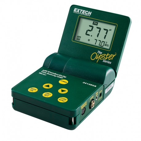 Oyster™ pH/Conductivity/TDS/ORP/Salinity Meter 34135A-P