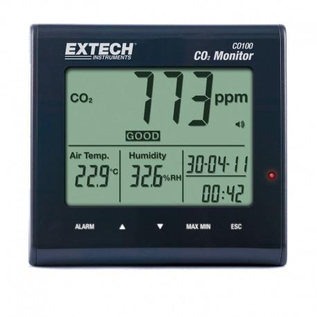 Medidor Qualidade do Ar interior CO2 CO100