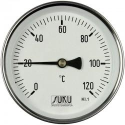 Termómetro Bimetálico em Aço Inoxidável