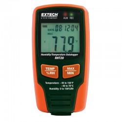 Registador de temperatura e humidade Extech RHT20