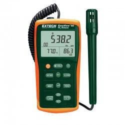 Medidor e Registador da qualidade do ar em ambientes interiores Extech EA80