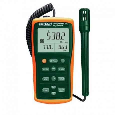Indoor Air Quality Meter Datalogger Extech EA80