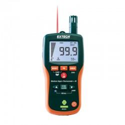 Medidor de humidade sem contacto com Bluetooth Extech MO300